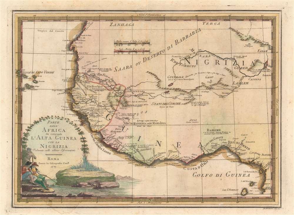 Parte Dell'Africa che comprende L'Alta Guinea con la Nigrizia.