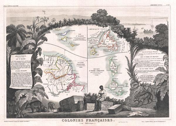 Colonies Francaises (en Amerique).