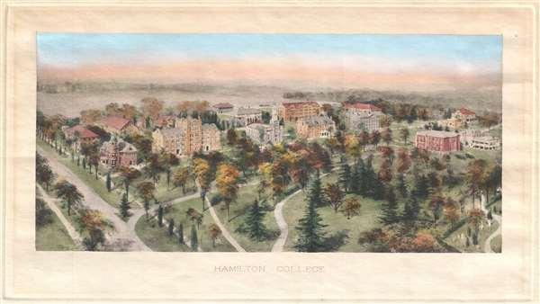 Hamilton College. - Main View