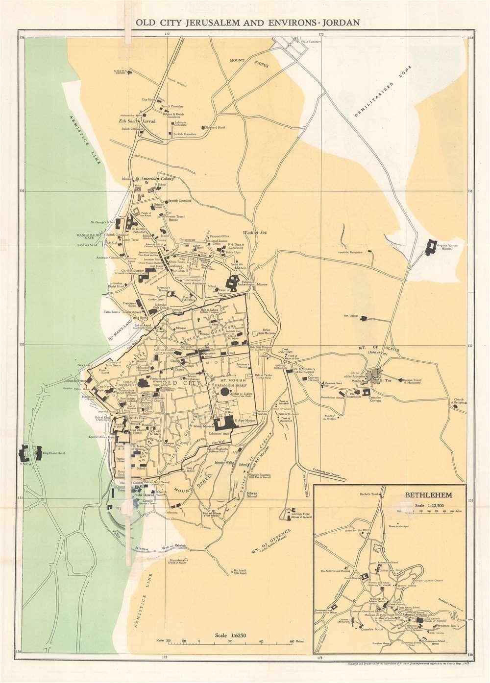.المملكة الاردنية الاشة The Hashemite Kingdom of Jordan (Tourist Map). - Alternate View 1
