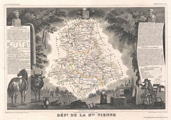 Dept. de la Haute-Vienne.