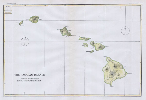 The Hawaiian Islands. - Main View