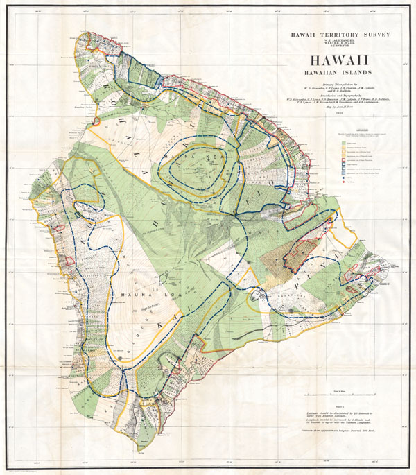 Hawaii, Hawaiian Islands. - Main View