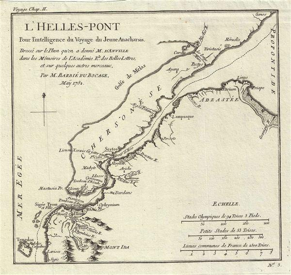 l'Helles-Pont Pour l'intelligence du Voyage du Jeune Anacharsis.