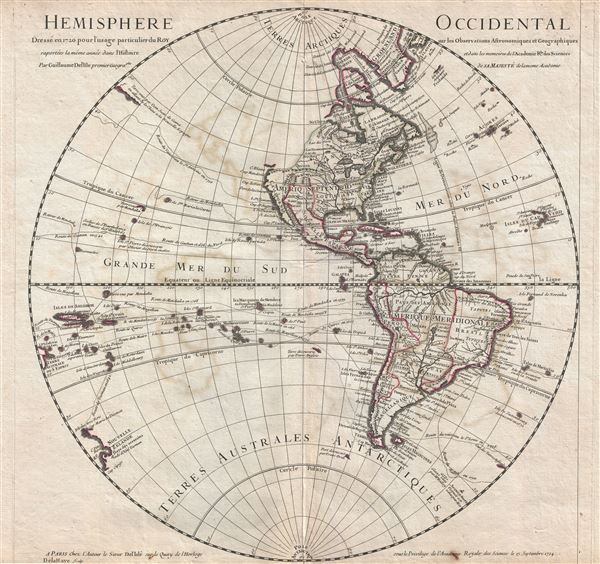 Hemisphere Occidental.