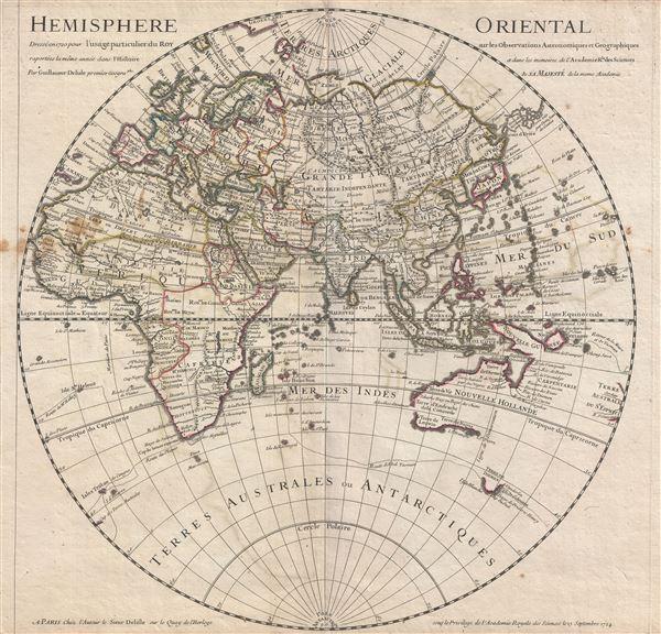Hemisphere Oriental.