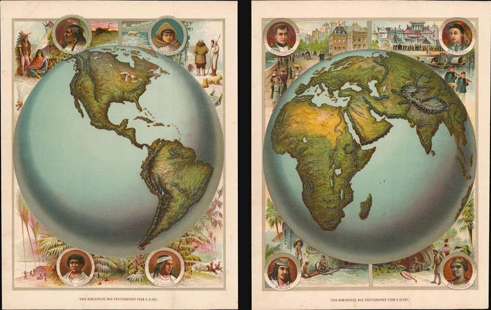 [Western Hemisphere]. [Eastern Hemisphere]. - Main View