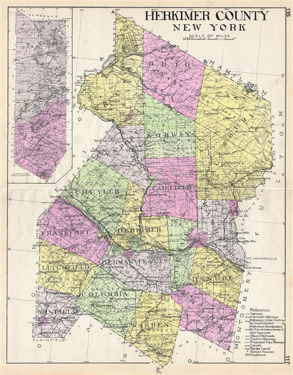 Herkimer County New York. - Main View