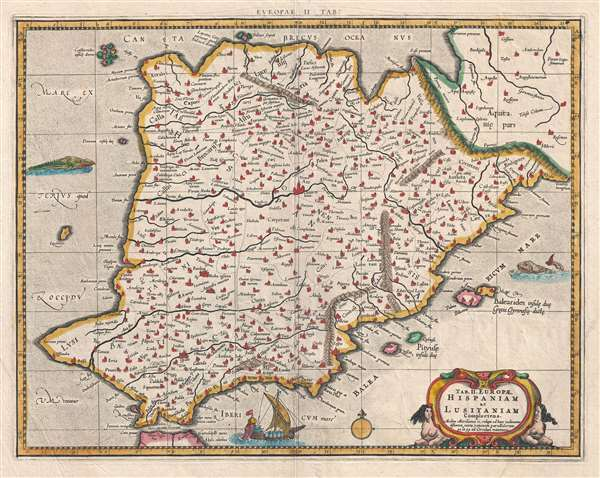 Tab. II. Europae, Hispaniam ac Lusitaniam Complectens.