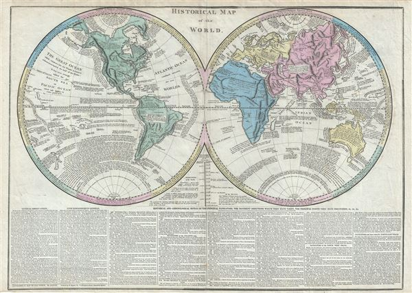 Historical Map of the World.