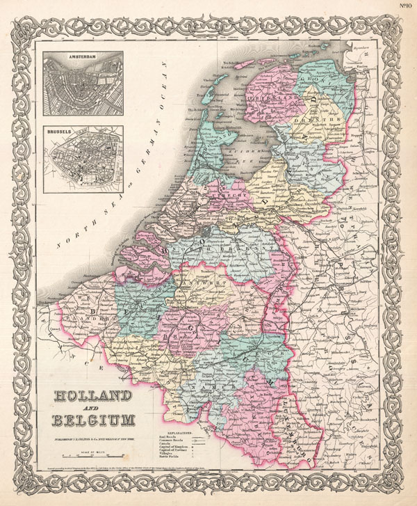 Holland and Belgium. - Main View
