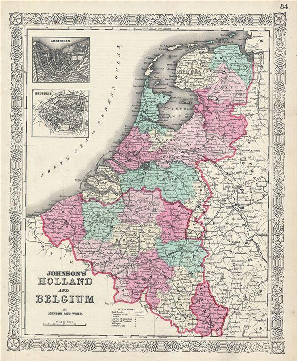Johnson's Holland and Belgium. - Main View
