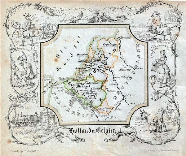 Holland u. Belgien. - Main View