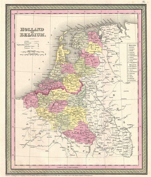 Holland and Belgium. - Main View