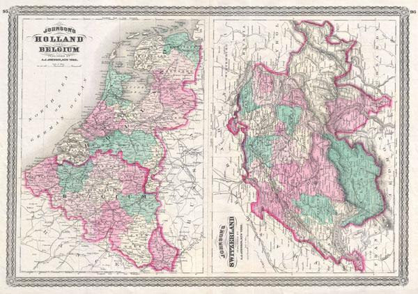 Johnson's Switzerland. / Johnson's Holland and Belgium. - Main View