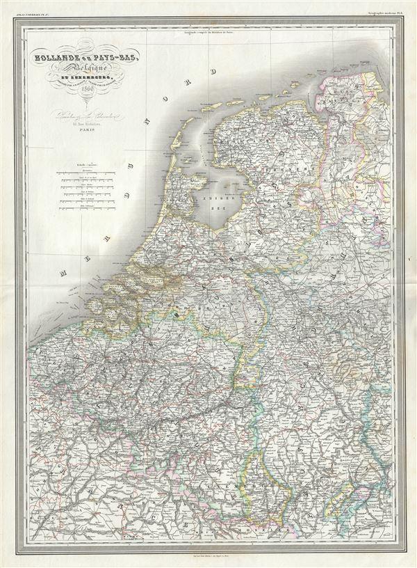 Hollande ou Pays-Bas, Belgique et Luxembourg.