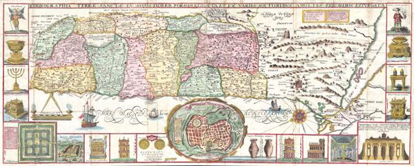 Chorographia Terrae Sanctae in Angustiorem Formam Redacta, et ex Variis Auctoribus a Multis Erroribus Expurgata