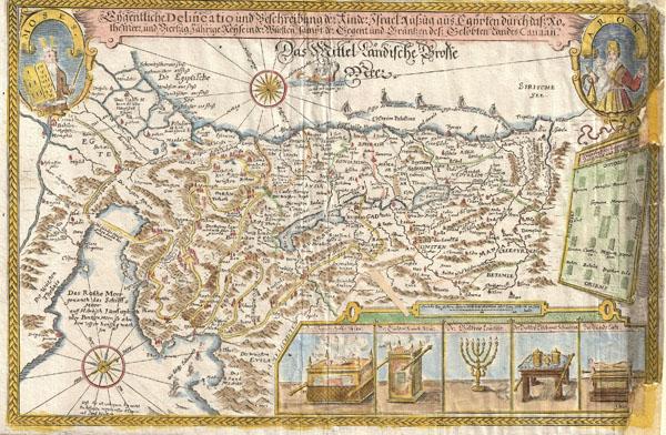 cder Kinder Israel Auszug aus Egypten ... und Viertzig Jahrige Reyse. - Main View