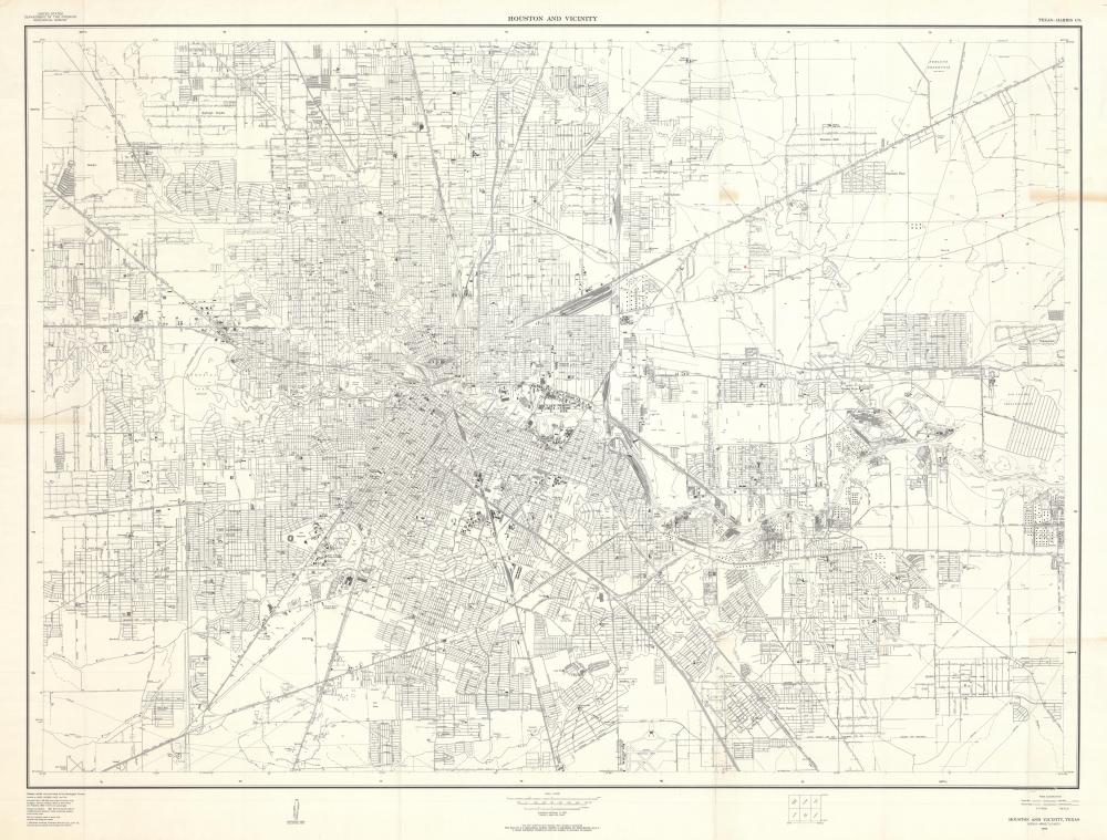 Houston and Vicinity. - Main View