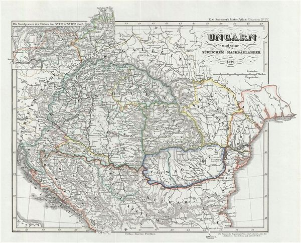 Ungarn und seine südlichen Nachbarländer seit 1526.