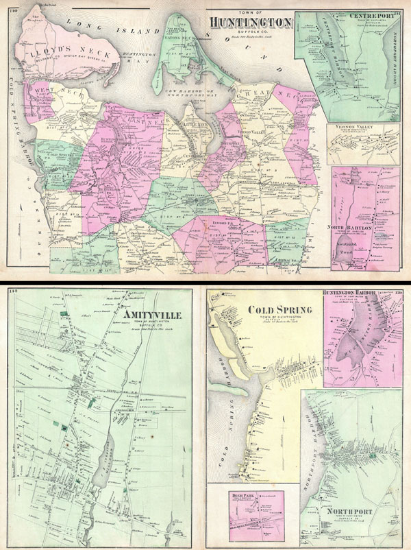 Town of Huntington, Suffolk Co. / Amityville, Town of Huntington, Suffolk Co. / Cold Spring, Town of Huntington, Suffolk Co.