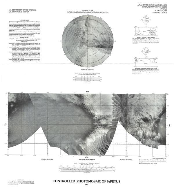 Controlled Photomosaic of Iapetus.