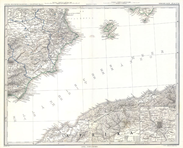 Ibiza and Spanish & African Coasts, Balearic Islands - Main View