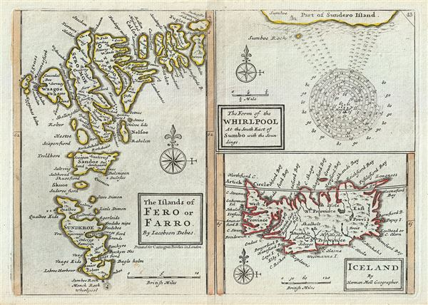 The Islands of Fero or Farro by Jacobson Debes. The Form of the ...