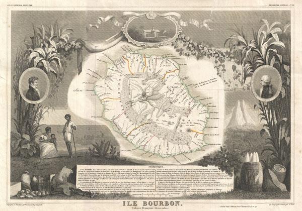 Ile Bourbon. Colonie Francaise (Ocean Indien.)