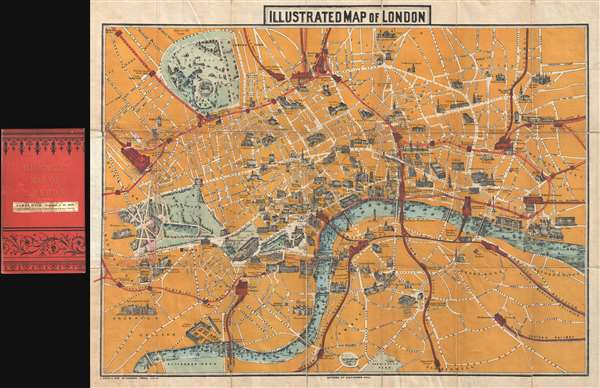 Illustrated Map of London.