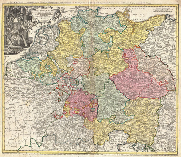 Imperii Romano-Germanici in suos Status et Circulos Divisi Tabula Generalis in Ustus Iuventutis Erudiendae…
