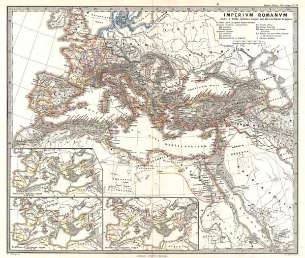 Imperium Romanum Inde a bellow Actiaco usque ad Diocletiani Tempus.