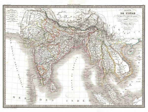 Catre de l'Inde en Deca et au Dela du Gange.