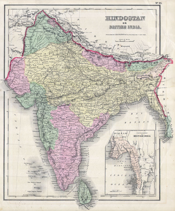 India or Hindostan. - Main View