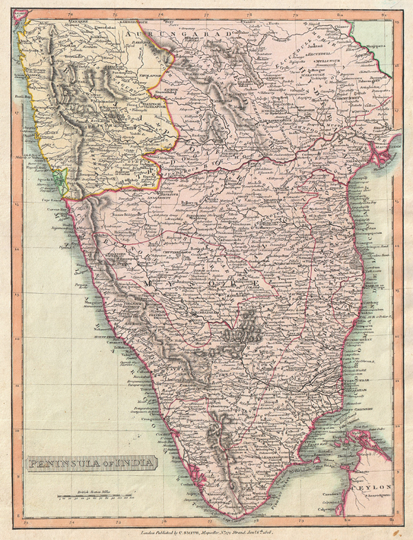 Peninsula of India.