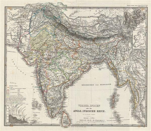 vorder-Indien oder das Anglo-Indische Reich.