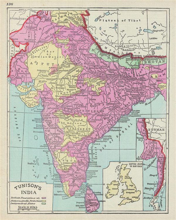 Tunison's India.