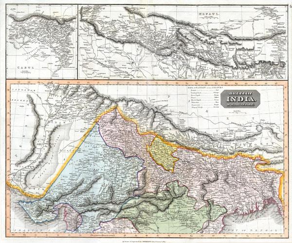 British India, Northern Part. - Main View
