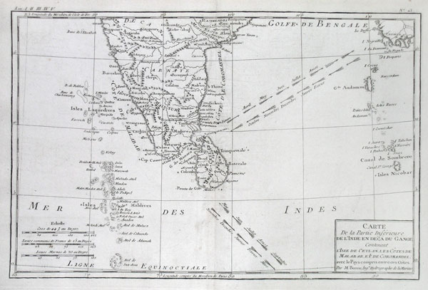 Southern india and the maldives geographicus rare for Southern crafted homes inventory