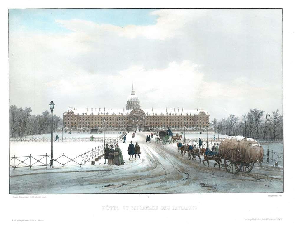 Hôtel et Esplanade des Invalides. - Main View
