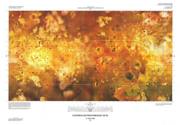 Controlled Photomosaic of Io. - Main View