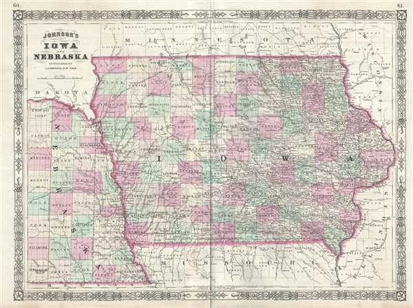 Johnson's Iowa and Nebraska.