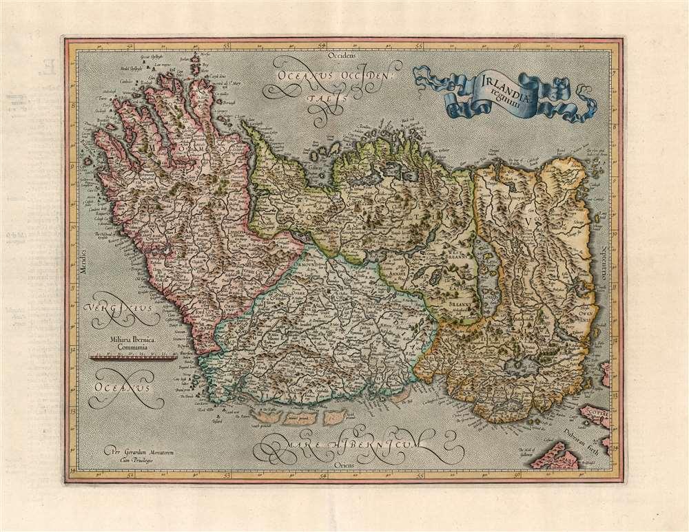 Irelandia regnum. - Main View
