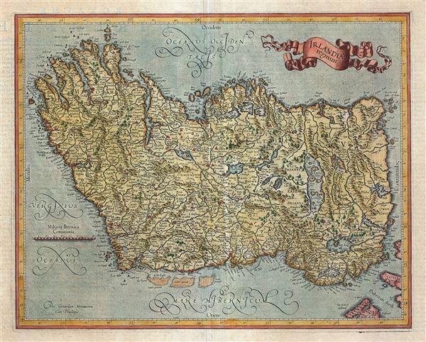 Irelandia regnum.