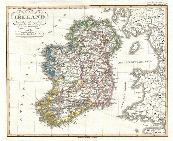 Ireland Entworfen und gezeichnet von F. von Stulpnagel.