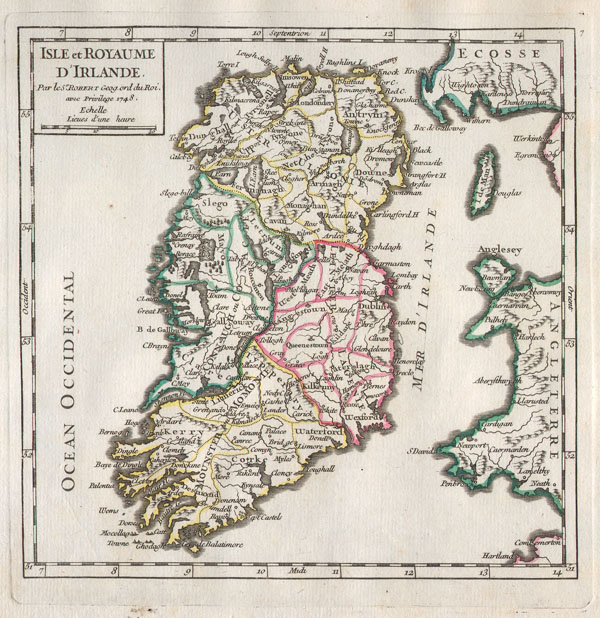 Isle et Royaume d'Irlande. - Main View