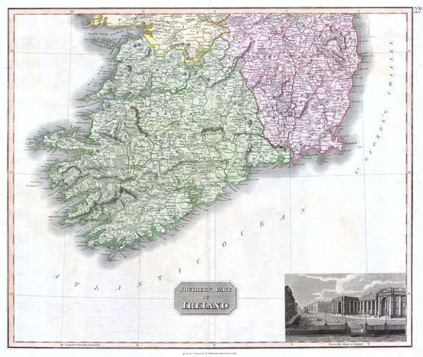 Southern Part of Ireland.