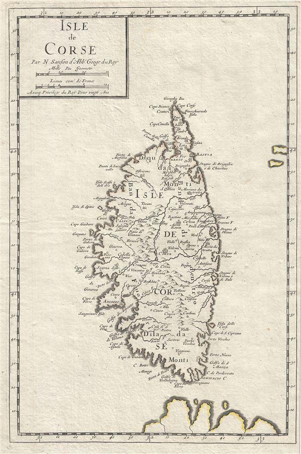 Isle de Corse.