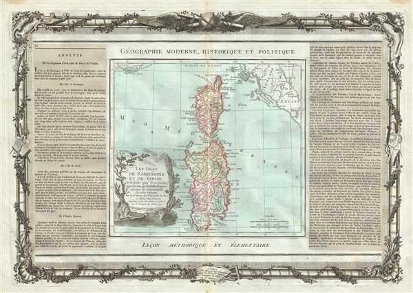 Les Isles de Sardaigne et de Corse.
