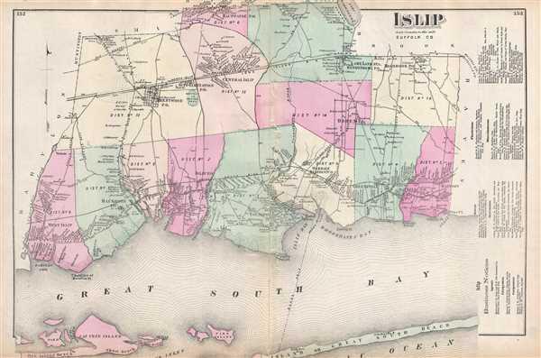 Islip Suffolk County.